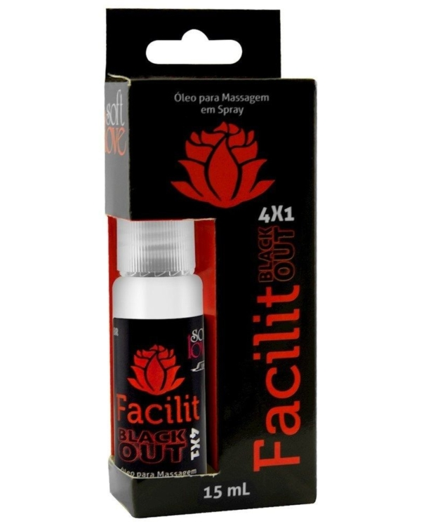 Facilit Spray Blackout 4X1 - Boutique Erótica Sra.S